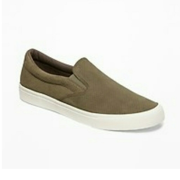 Old Navy Other - NWT Men's OLD NAVY Green Slip Ons Green Shoes 11